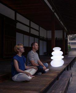 Lámpara decorativa interior y exterior Balans ambiente 2