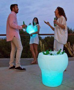 Lámpara mesa con luz MELVIN ambiente