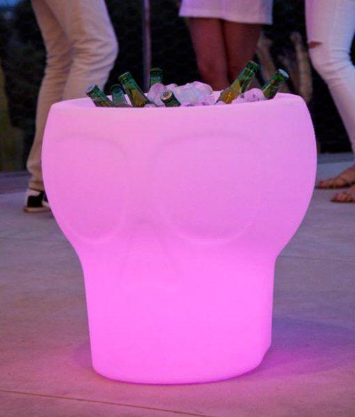 Lámpara mesa con luz MELVIN ambiente 2
