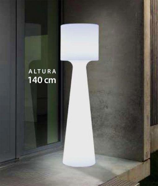 Lámpara pie de 140 cm altura GRACE