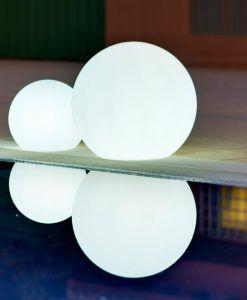 Lámpara solar flotante BULY ambiente 8