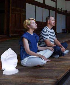 Lámpara zen 40 cm altura GOA ambiente
