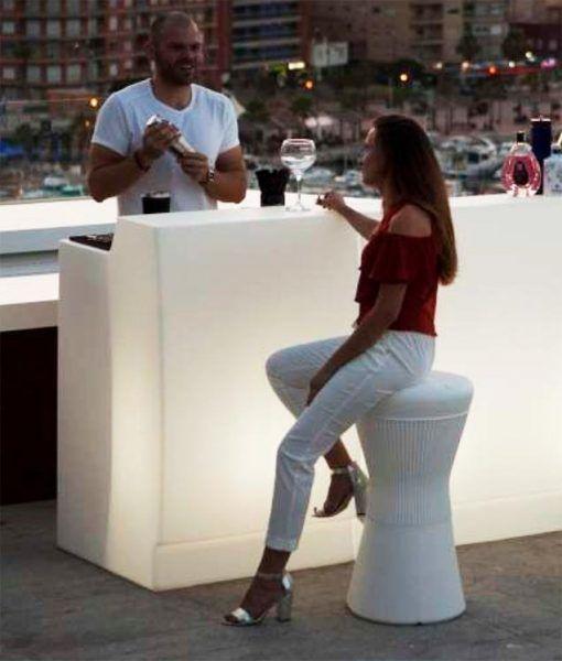 Mostrador recepción con luz 75 cm de ancho SICILIA ambiente