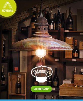 ¡Novedades! Retrolampe en La Casa de la Lámpara - Ver todos los productos... ;-)