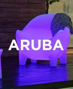Sillón con luz ergonómico ARUBA