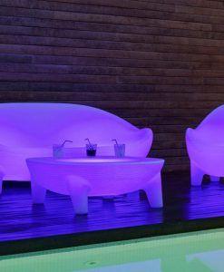 Sillón con luz ergonómico ARUBA ambiente