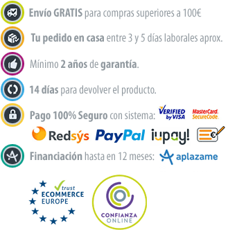 Compra con todas las ventajas y garantías de Confianza Online en La Casa de la Lámpara