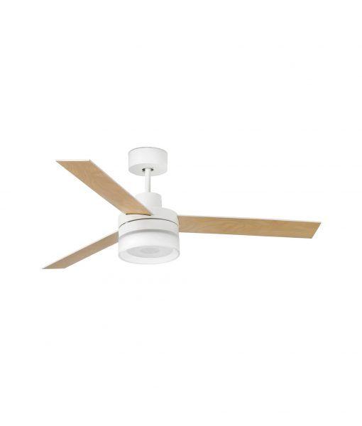 Ventilador de techo con altavoz blanco ICE LED detalle 2