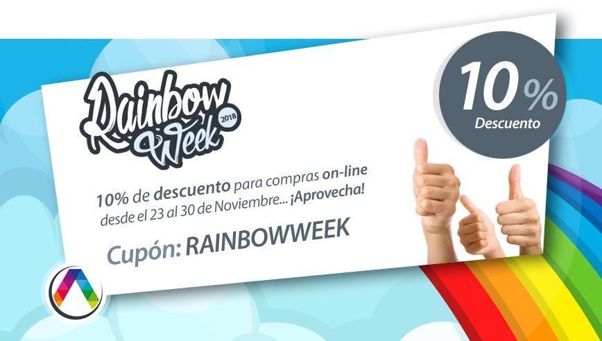 ¡Cuponazo de la Rainbow Week! La Casa de la Lámpara :-)