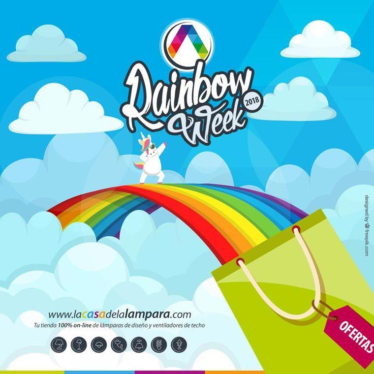 Promoción en luminarias Rainbow Week - La Casa de la Lámpara