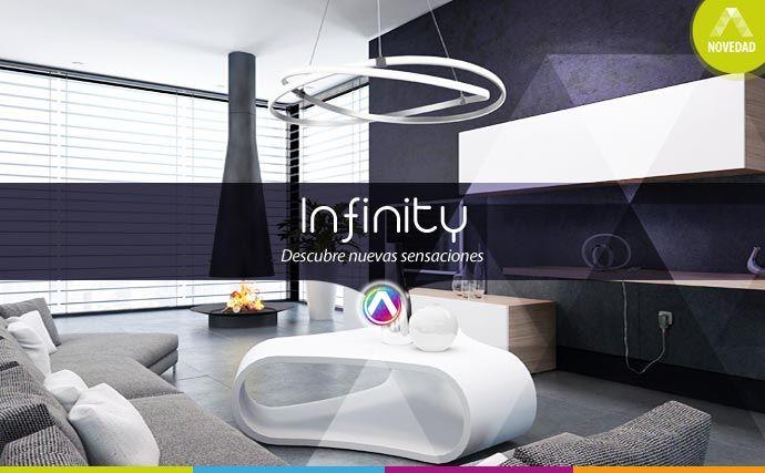 Colección de lámparas Infinity en La Casa de la Lámpara :-)