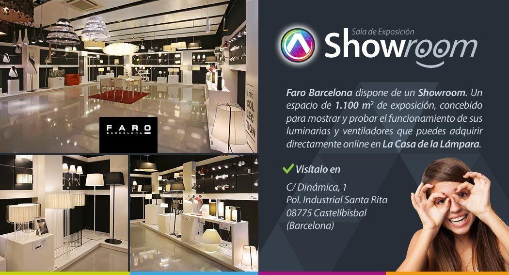 Showroom / Sala de exposición Faro Barcelona