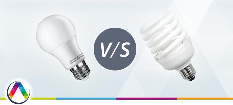 Bombillas de bajo consumo VS bombillas LED