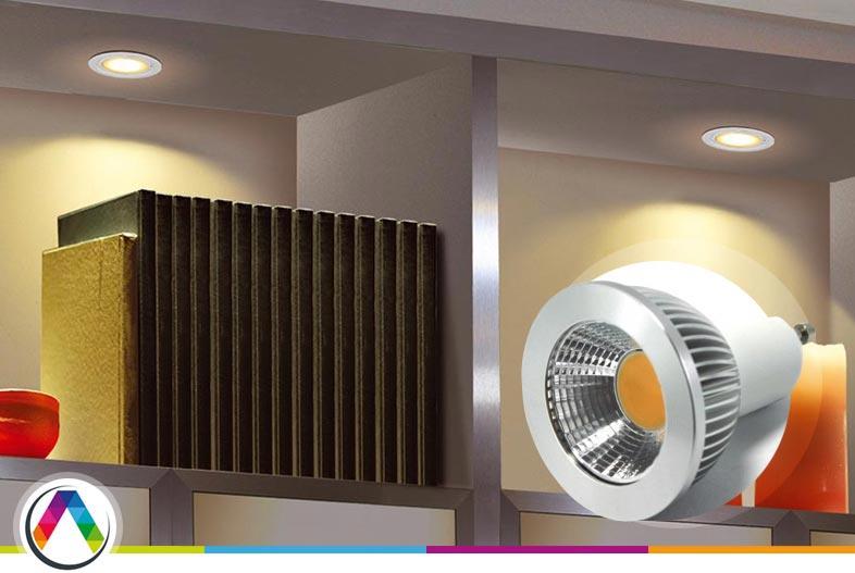 Bombillas LED GU10 dicroicas - Todas las respuestas en La Casa de la Lámpara :-)