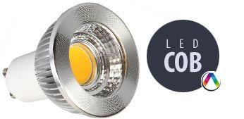 Bombilla COB LED y MicroLED