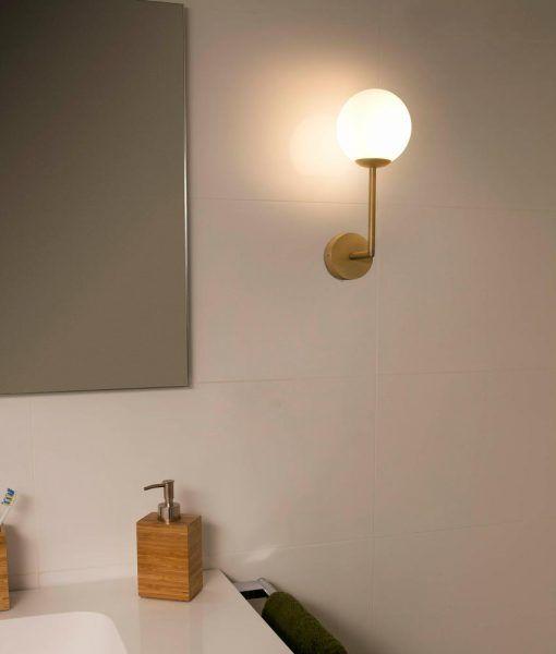 Aplique baño oro satinado GALA ambiente 2