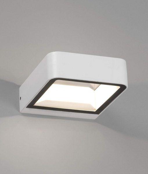 Aplique blanco exterior moderno AXEL LED