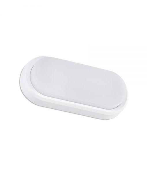 Aplique clásico redondeado blanco FRED XL LED