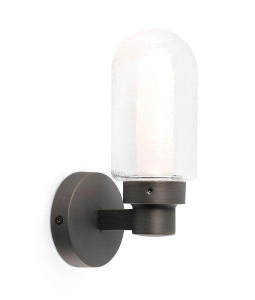 Aplique de pared baño bronce BRUME LED