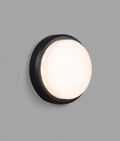 Aplique de pared negro TOM LED