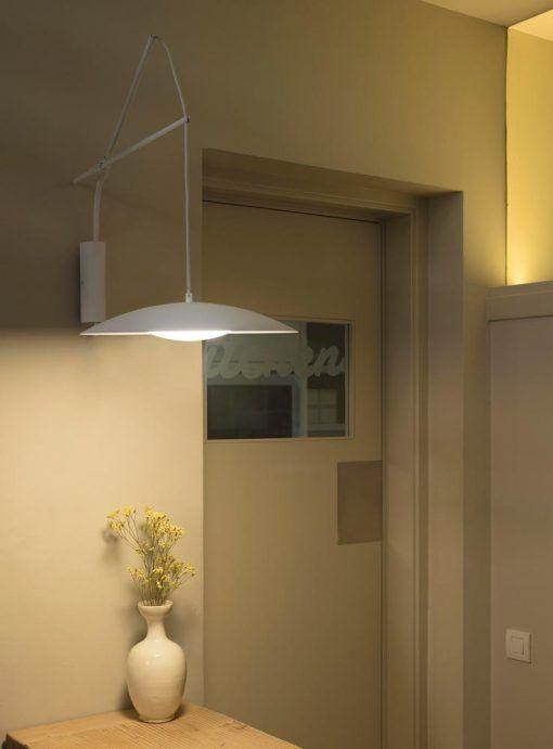 Aplique extensible blanco SLIM LED ambiente