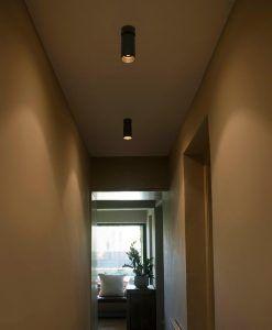 Aplique foco LED negro STAN ambiente 2