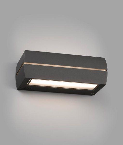 Aplique gris oscuro DRAGMA LED