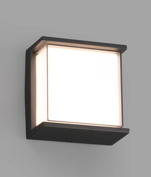 Aplique gris oscuro HIKARI LED