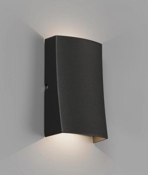 Aplique gris oscuro NAIROBI LED