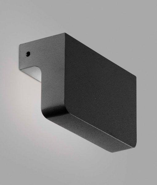 Aplique gris oscuro NINE LED