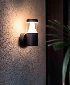 Aplique gris oscuro PLIM-1 LED ambiente