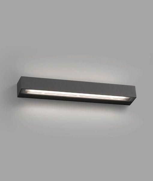 Aplique gris oscuro TACOS LED