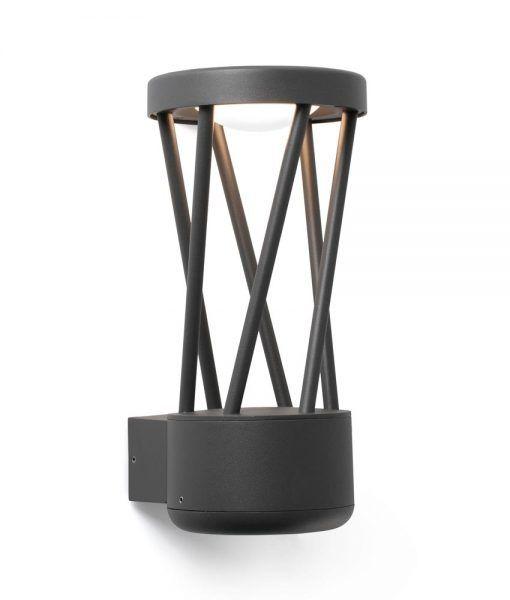 Aplique gris oscuro TWIST LED