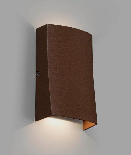 Aplique marrón óxido NAIROBI LED
