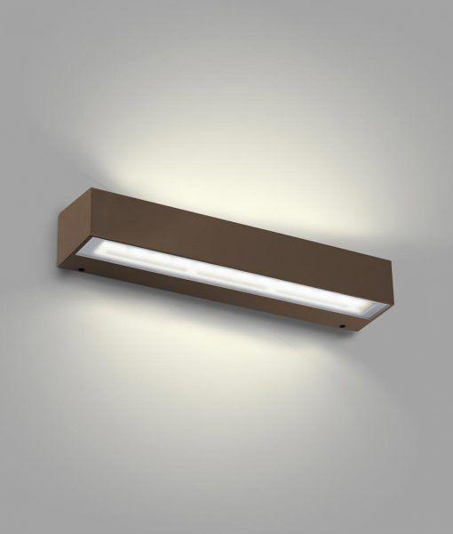 Aplique marrón óxido TACANA LED
