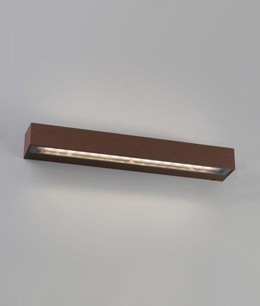 Aplique marrón óxido TACOS LED