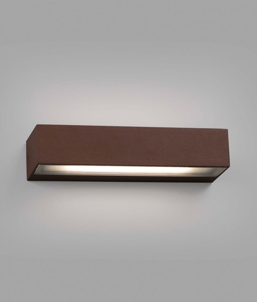 Aplique marrón óxido TOLUCA LED