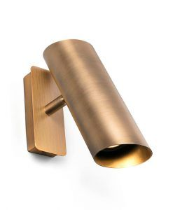 Aplique moderno acabado bronce LINK