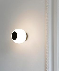 Aplique/Plafón bronce MOY LED ambiente