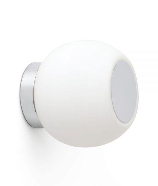 Aplique/Plafón cromo MOY LED