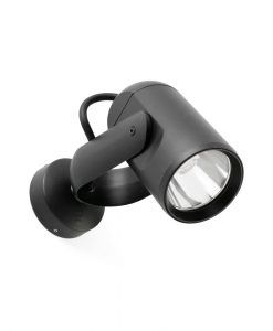 Aplique proyector negro SLOT-1 LED