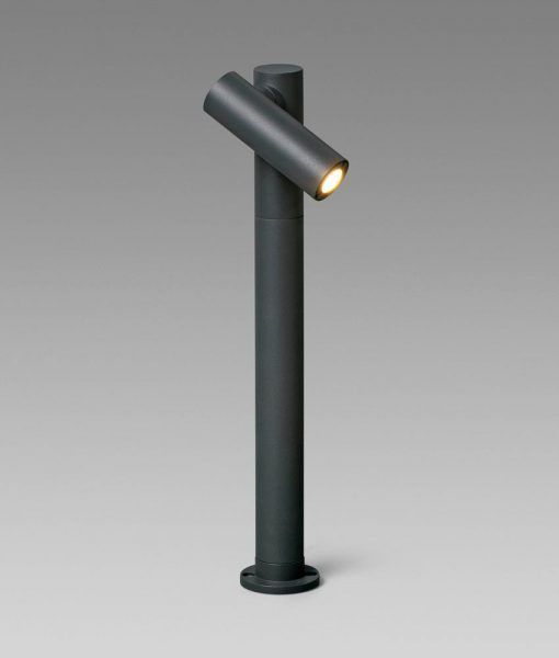 Baliza orientable gris oscuro SPY-2 LED