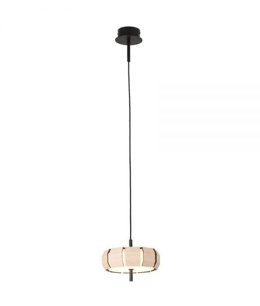Colgante madera dimable MINI PHILL LED