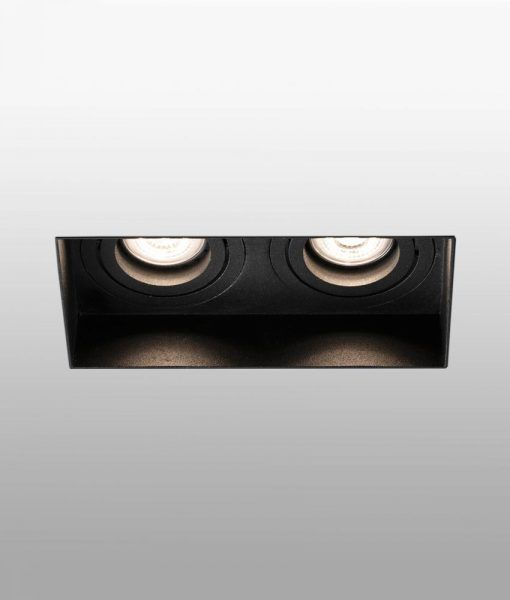 Empotrable sin marco 2 luces orientable HYDE