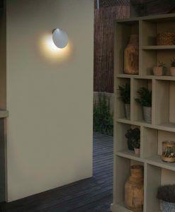 Lámpara aplique blanco LOTUS LED ambiente