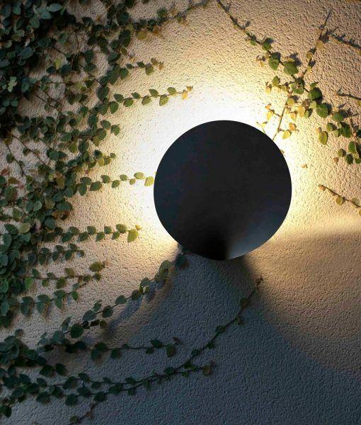 Lámpara aplique gris oscuro LOTUS LED ambiente