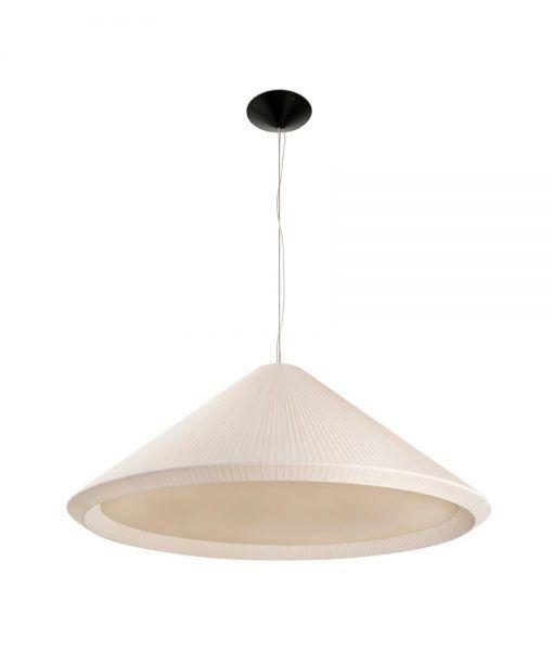 Lámpara blanco marfil 130 cm diámetro HUE IN