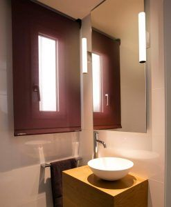 Lámpara de baño cromo 5W VOLGA LED ambiente