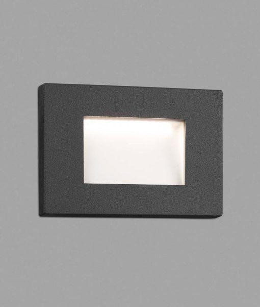 Lámpara empotrable gris oscuro SPARK-1 LED