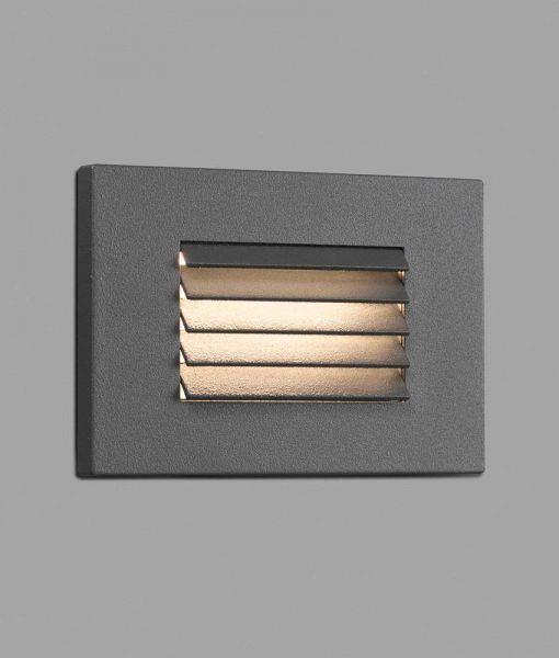 Lámpara empotrable gris oscuro SPARK-2 LED